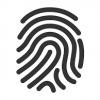 symbol-finger-schwarz
